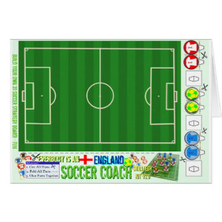 Everybody is an England Soccer Coach Strategy Kit Card