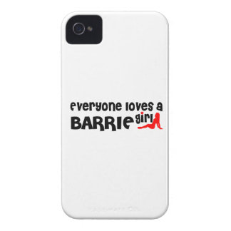 Everybody loves a Barrie Girl iPhone 4 Covers