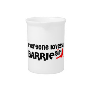 Everybody loves a Barrie Girl Pitcher