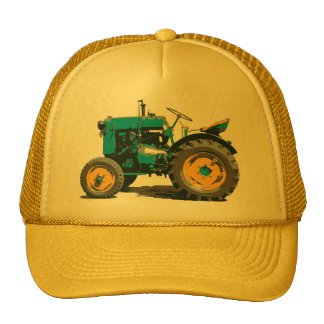Everybody loves a big old tractor trucker hats