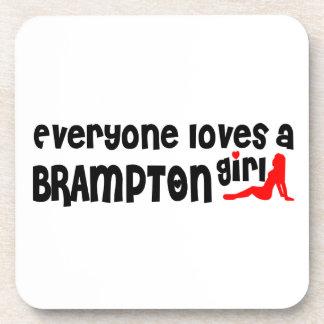 Everybody loves a Brampton Girl Coaster