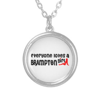 Everybody loves a Brampton Girl Silver Plated Necklace