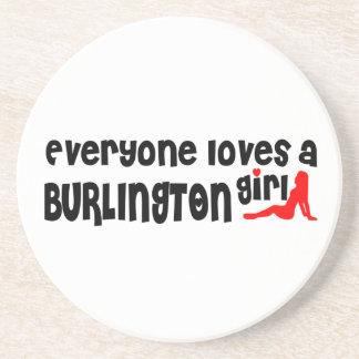 Everybody loves a Burlington Girl Coaster