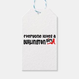 Everybody loves a Burlington Girl Gift Tags