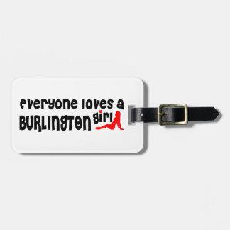 Everybody loves a Burlington Girl Luggage Tag