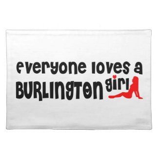 Everybody loves a Burlington Girl Placemat