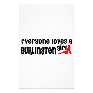 Everybody loves a Burlington Girl Stationery