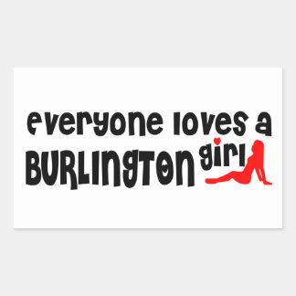 Everybody loves a Burlington Girl Sticker