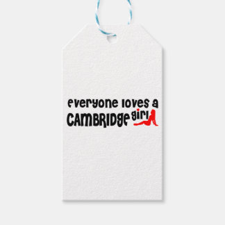 Everybody loves a Cambridge Girl Gift Tags