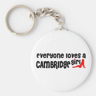 Everybody loves a Cambridge Girl Keychain