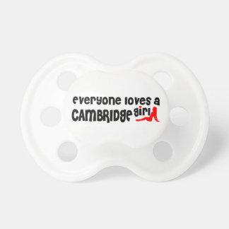 Everybody loves a Cambridge Girl Pacifier