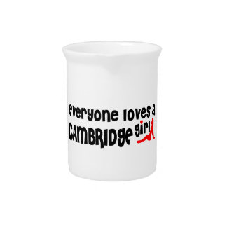 Everybody loves a Cambridge Girl Pitcher