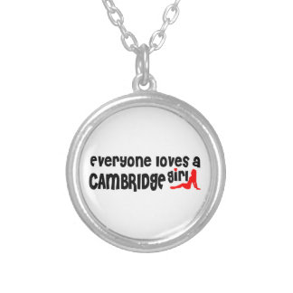 Everybody loves a Cambridge Girl Silver Plated Necklace