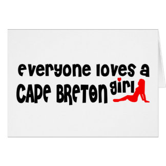 Everybody loves a Cape Breton Card