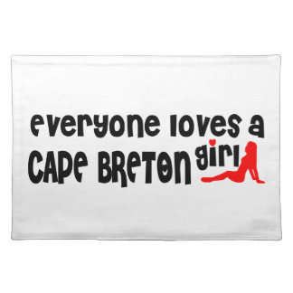Everybody loves a Cape Breton Placemat