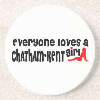 Everybody loves a Chatham-Kent Girl Coaster