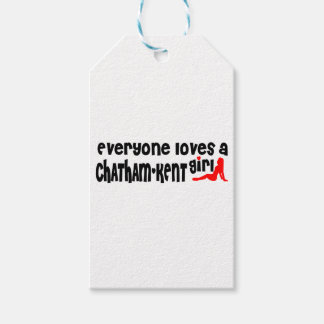 Everybody loves a Chatham-Kent Girl Gift Tags