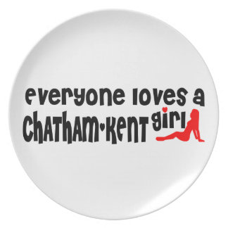 Everybody loves a Chatham-Kent Girl Plate