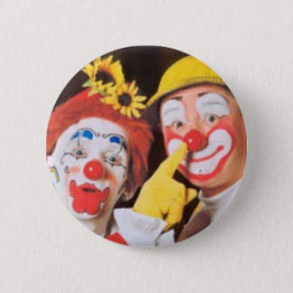 Everybody Loves A Clown 2 Inch Round Button
