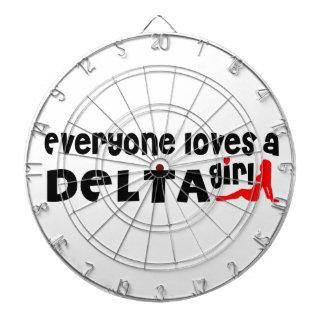 Everybody loves a Delta Girl Dartboard