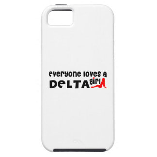 Everybody loves a Delta Girl iPhone 5 Cover