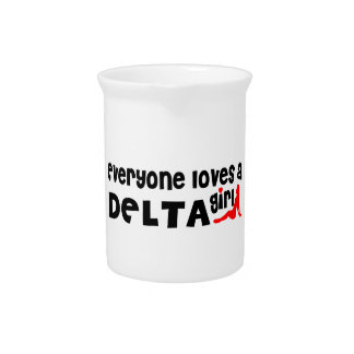Everybody loves a Delta Girl Pitcher
