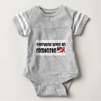 Everybody loves a Edmonton Girl Baby Bodysuit