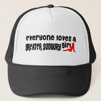 Everybody loves a Greater Sudbury Girl Trucker Hat