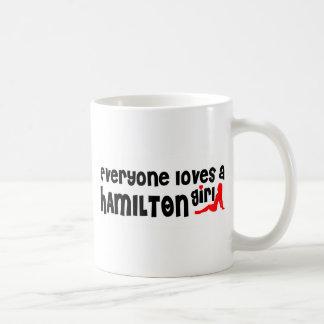 Everybody loves a Hamilton Girl Coffee Mug