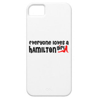 Everybody loves a Hamilton Girl iPhone 5 Case