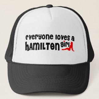 Everybody loves a Hamilton Girl Trucker Hat