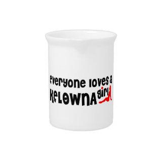 Everybody loves a Kelowna Girl Pitcher