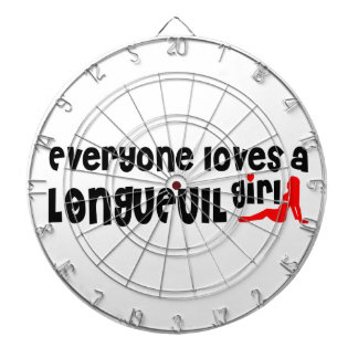 Everybody loves a Longueuil Girl Dartboard