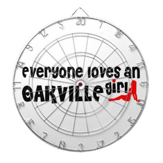 Everybody loves a Oakville Girl Dartboard