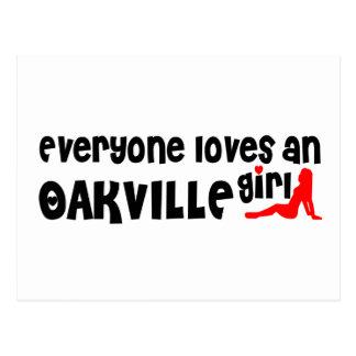 Everybody loves a Oakville Girl Postcard