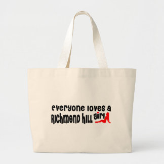 Everybody loves a Richmond Girl Large Tote Bag