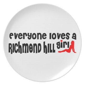 Everybody loves a Richmond Girl Plate