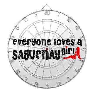 Everybody loves a Saguenay Girl Dartboard