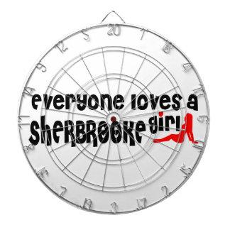 Everybody loves a Sherbrooke Girl Dartboard