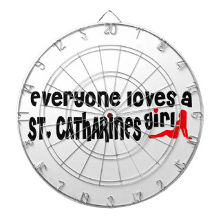 Everybody loves a St. Catharines Girl Dartboard