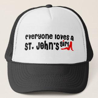 Everybody loves a St. John's Girl Trucker Hat