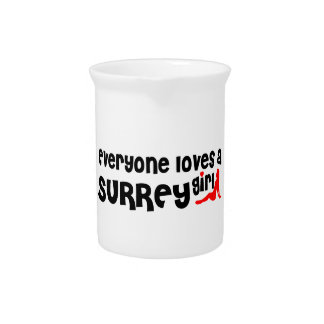 Everybody loves a Surrey Girl Pitcher