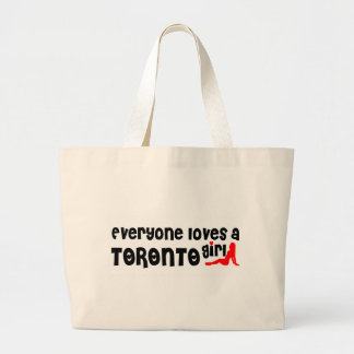 Everybody loves a Toronto Girl Large Tote Bag