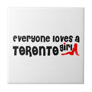 Everybody loves a Toronto Girl Tile