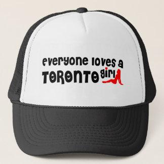 Everybody loves a Toronto Girl Trucker Hat