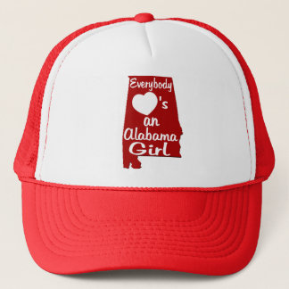 Everybody Loves an Alabama Girl Trucker Hat
