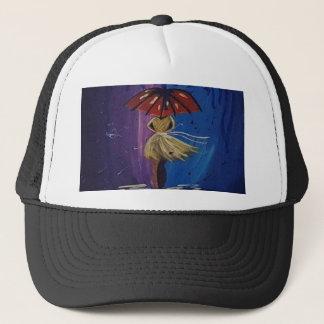 everybody loves the rain trucker hat