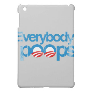 Everybody poops Faded png iPad Mini Cases