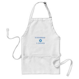 everybody shiksa copy standard apron