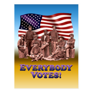 Everybody Votes - Post Card